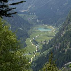 Vergezicht in het Seebachtal