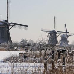 Sfeerbeeld Molens Kinderdijk