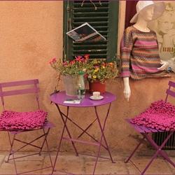 terrasje in Saint-Tropez