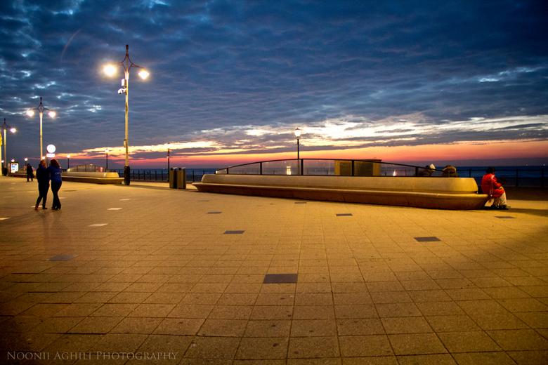 Scheveningse Strand - Scheveninge by night.