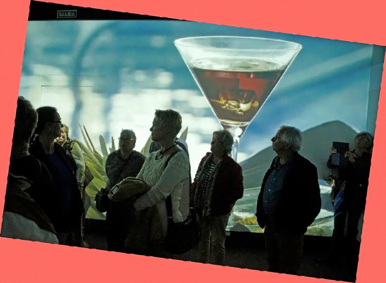 Licor 43 - Vandaag met een aantal mensen een rondleiding gehad in een likeurfabriek. Drie verschillende drankjes geproefd. Heel leuk en gezellig. gr.
