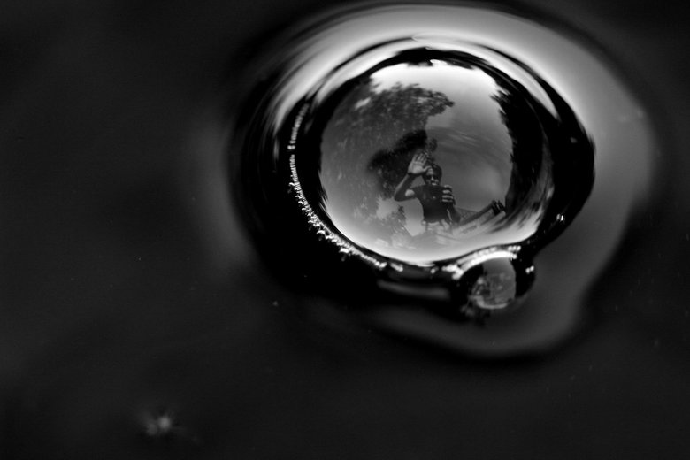 selfportrait - my world in a bubble