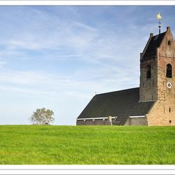 Kerkje van Wierum - Waddenzee (serie 2)