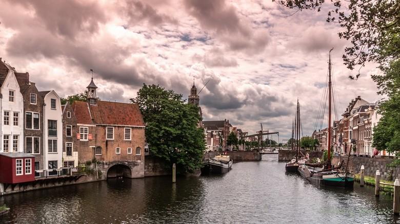 stadzicht - Rotterdam Delfshaven
