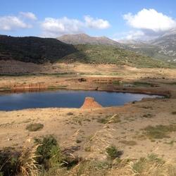 Op weg naar lassithi plateau