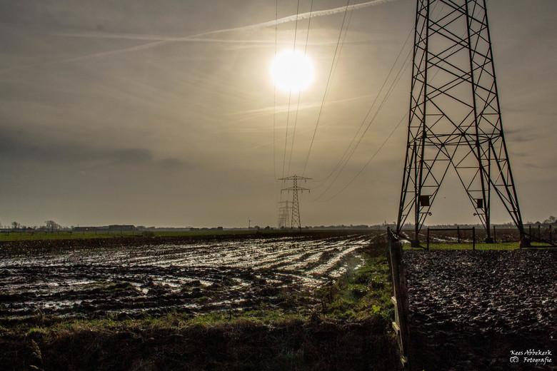 Sunpower - Zon en nattigheid op t land bij Moerbeek Noord Holland