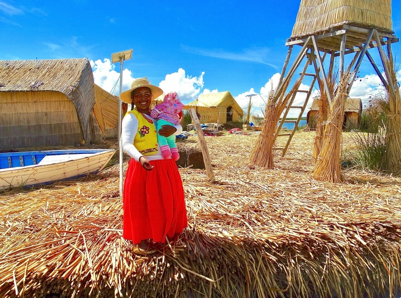 Warm onthaal op het Titicacameer