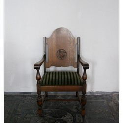 Old Chair in the Church