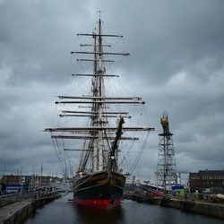 Stad Amsterdam in the clouds