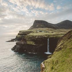 Zon op de Faeröer
