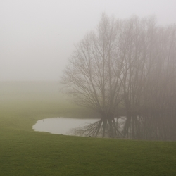 mist bij Kandia