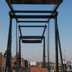 P1310415 Rondje Maassluis nr8  Nieuwe  FIETSbrug 13 feb 2015