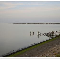 Waddenzee bij Wierum - long-exposure (Serie 3-1)