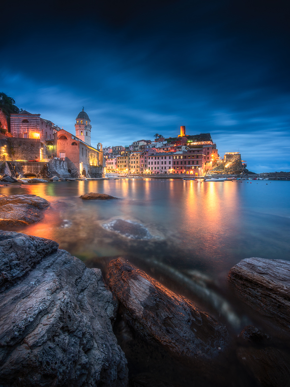 Vernazza at night -