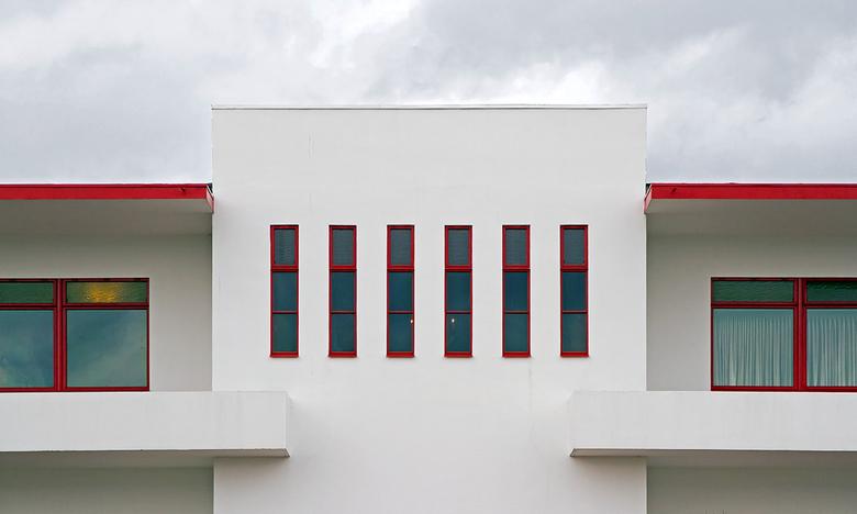 Villa Jongerius 11 - De achterkant van het gebouw