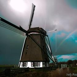 Regenboog molen Het Noorden, Texel