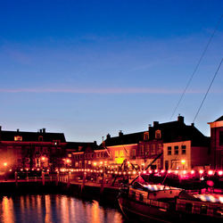 Bewerking: Willemstad by night
