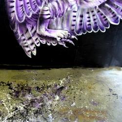 van spikkels naar kunstwerk