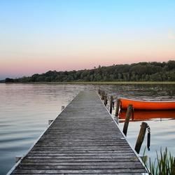 Tjele Lake Vammen Denmark