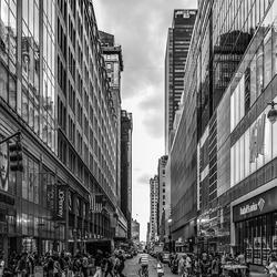 Oversteken in Manhattan