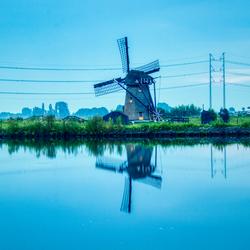 Reflectie Molen Leiderdorp