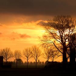 Alweer een kleurrijke zonsopkomst