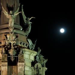 Barcelona, monument de Colom
