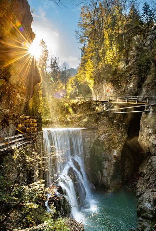 Rappenlochschlucht  - Rappenlochschlucht bij Dornbirn in Oostenrijk