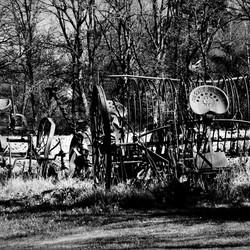 oude landbouwvoertuigen