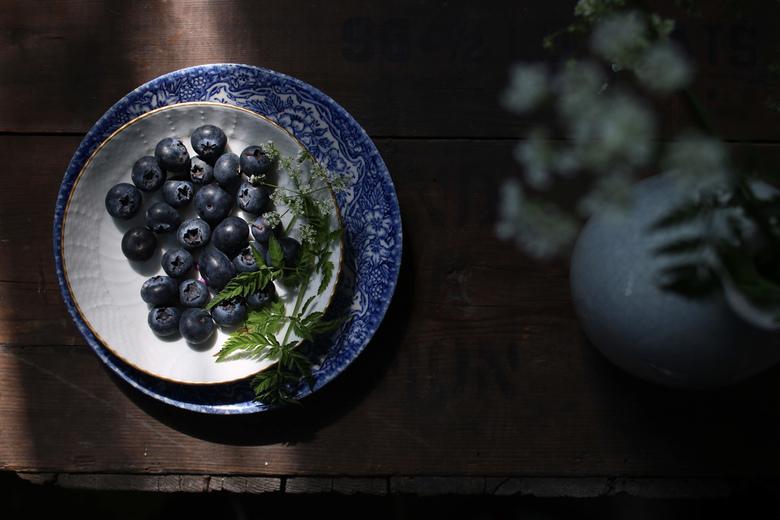 Blueberries -
