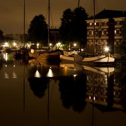 De haven van Gouda