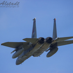 USAF ANG F-15 Overshoot