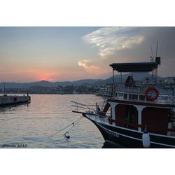 Sunset in Marmaris