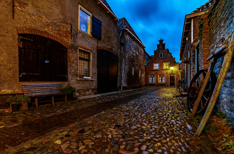 Night over Elburg -