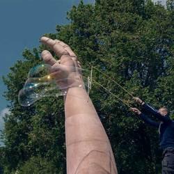 Een hand