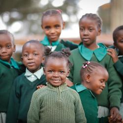 Proud to be en Kibera-kid!
