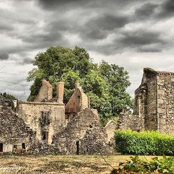 overzicht ruine d'Oradour sur Glane
