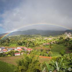 Tropische regenboog
