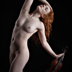 With violin 2