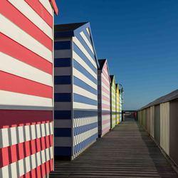 Huisjes op de pier