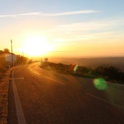 Monchique sunset, Portugal.