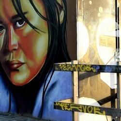 Graffiti Face 1