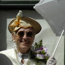 nog een carnavals-dame