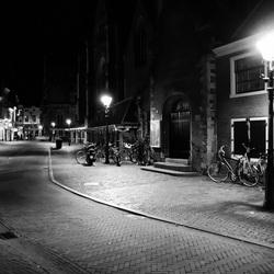 Haarlem bij nacht.
