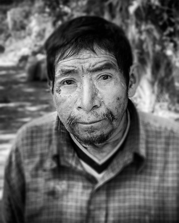 Man in Guatemala -