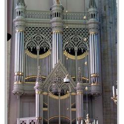 Het Bätz-orgel in de Domkerk te Utrecht