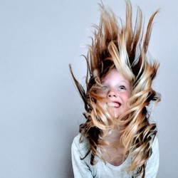 Hair flip