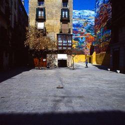 Pleintje in Barcelona