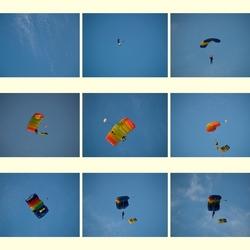 De parachutisten.