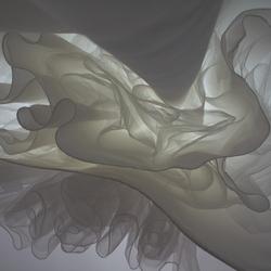 Onderkant trouwjurk